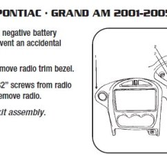 2002 Pontiac Sunfire Stereo Wiring Diagram Ems Stinger 4 2003 Grand Am Radio Trusted Online 2004 Installation Parts Harness Wires Kits
