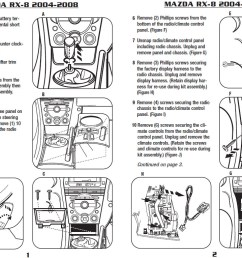 2005 mazda rx 8 installation parts harness wires kits bluetooth iphone tools wire diagrams stereo [ 1080 x 765 Pixel ]