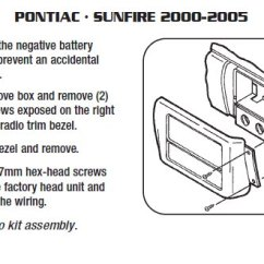 2002 Pontiac Sunfire Radio Wiring Diagram Beef Cuts Parts Of A Cow 2005 Installation Harness Wires Kits2005