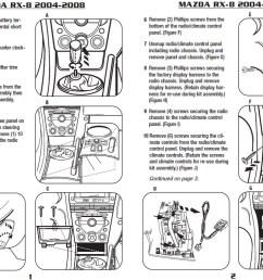 2006 mazda rx 8 installation parts harness wires kits bluetooth  [ 1080 x 765 Pixel ]