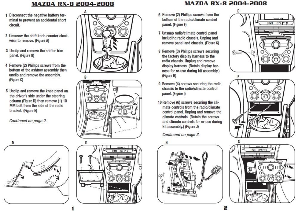 medium resolution of 2006 mazda rx 8 installation parts harness wires kits bluetooth