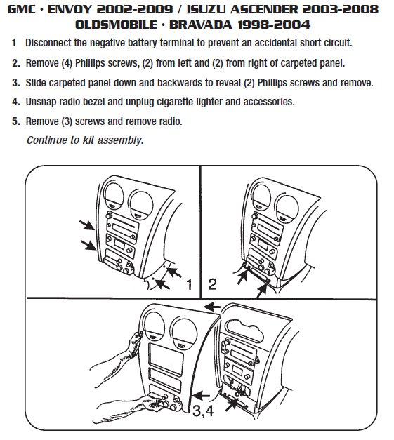 Philips Car Stereo Wiring Diagram