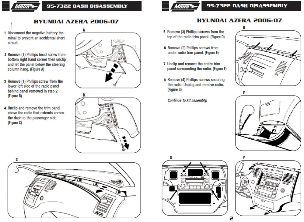 medium resolution of 2007 hyundai azera installation parts harness wires kits bluetooth iphone tools wire diagrams stereo