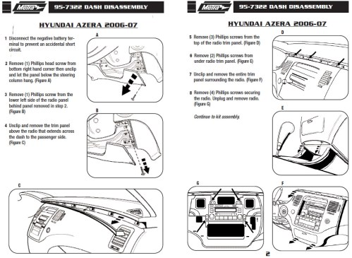 small resolution of 2007 hyundai azera installation parts harness wires kits bluetooth iphone tools wire diagrams stereo
