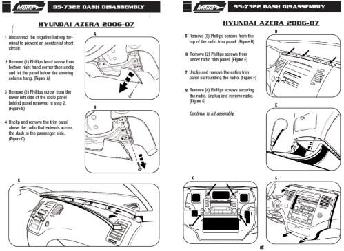 small resolution of 2007 hyundai azera installation parts harness wires kits bluetooth iphone