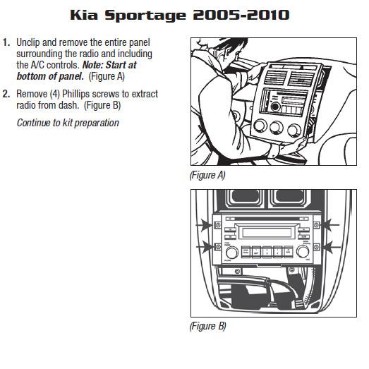 2006 Kia Sportage Radio Wiring Diagram