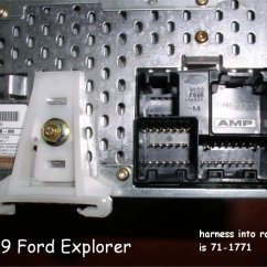 1999 Ford Explorer Xlt Stereo Wiring Diagram 1986 Harley Sportster 99 Radio And Schematics Harness Trusted 2004 Ranger