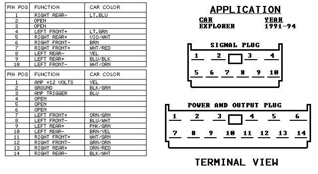 2006 ford radio wiring diagram,