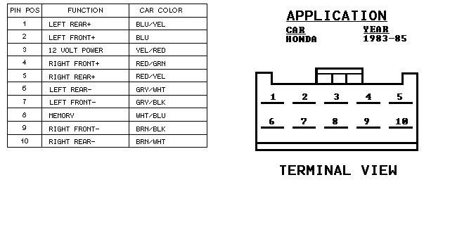 mitsubishi lancer 2004 stereo wiring diagram 1992 ezgo marathon 1999 honda civic accord ecu radio diagrams and schematics prelude car