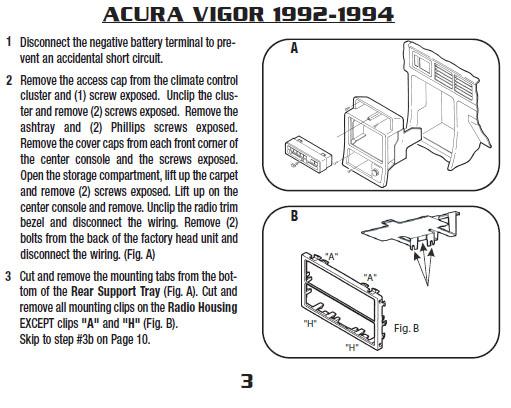1992 acura vigor fuse diagram acura vigor stereo wiring ... on