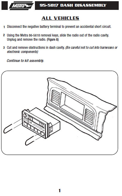.1996-LINCOLN-TOWN CARinstallation instructions.