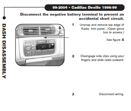 .1997-CADILLAC-DEVILLEinstallation instructions.