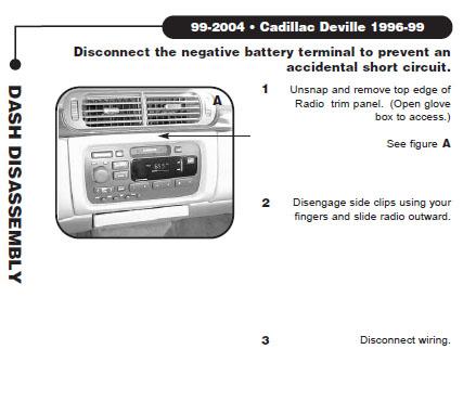 .1999-CADILLAC-DEVILLEinstallation instructions.