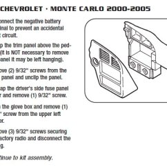 Lc Gmrc 01 Wiring Diagram Honda 6 5 Hp Engine Parts .2000-chevrolet-monte Carloinstallation Instructions.