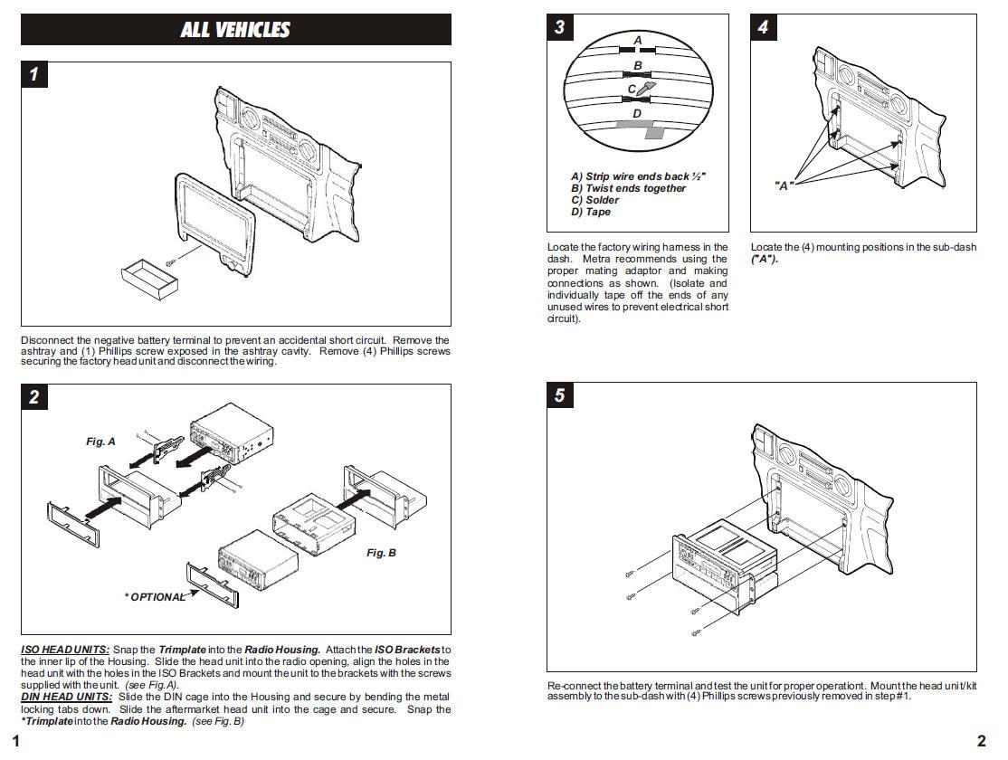 isuzu kb radio wiring diagram usb pinout 1967 cadillac eldorado specifications for passport