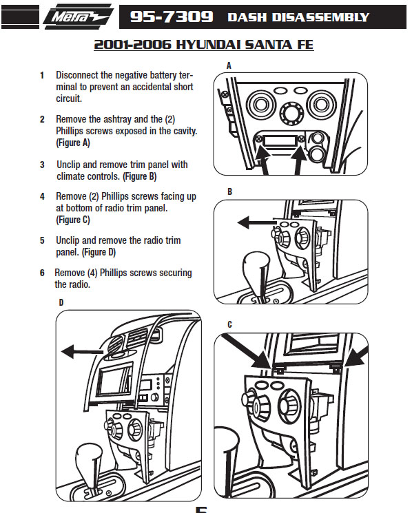 2006 kia optima stereo dash kit