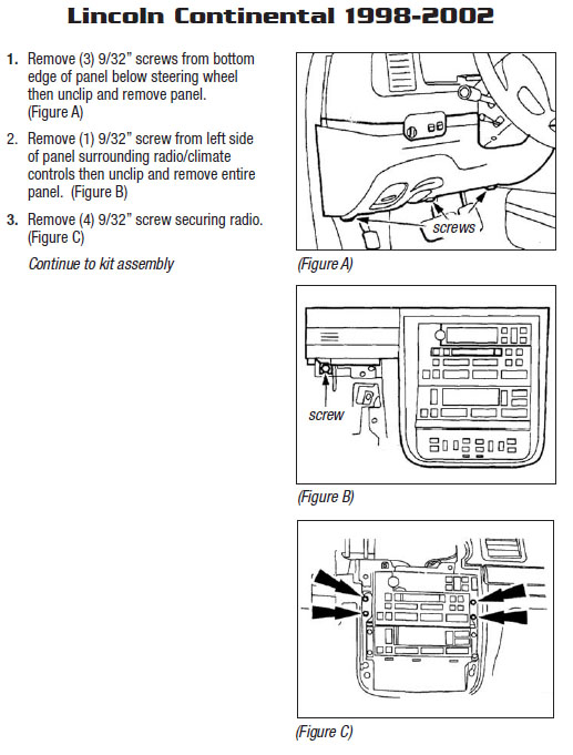 .2001-LINCOLN-CONTINENTALinstallation instructions.