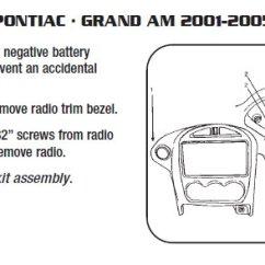 2001 Pontiac Grand Am Car Stereo Wiring Diagram 2000 Harley Davidson .2001-pontiac-grand Aminstallation Instructions.