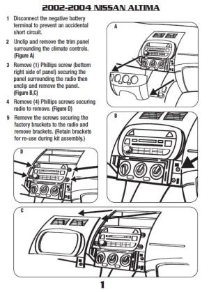2002NISSANAltimainstallation instructions