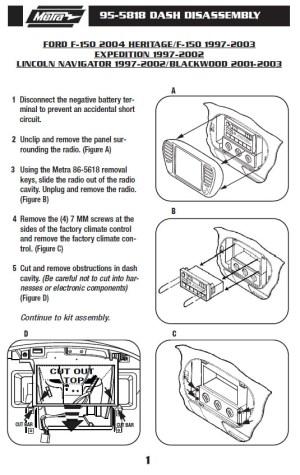 2003FORDF150installation instructions