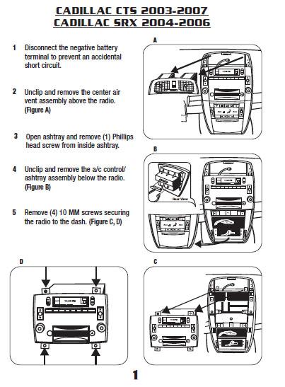 2003 Impala Wiring Diagram For Start System 2006 Cadillac Ctsinstallation Instructions