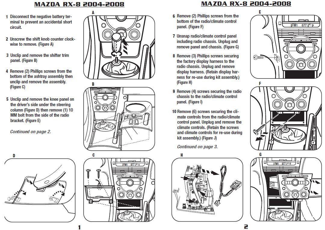 hight resolution of 2006 mazda rx 8installation instructions