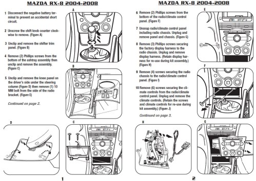 small resolution of 2006 mazda rx 8installation instructions