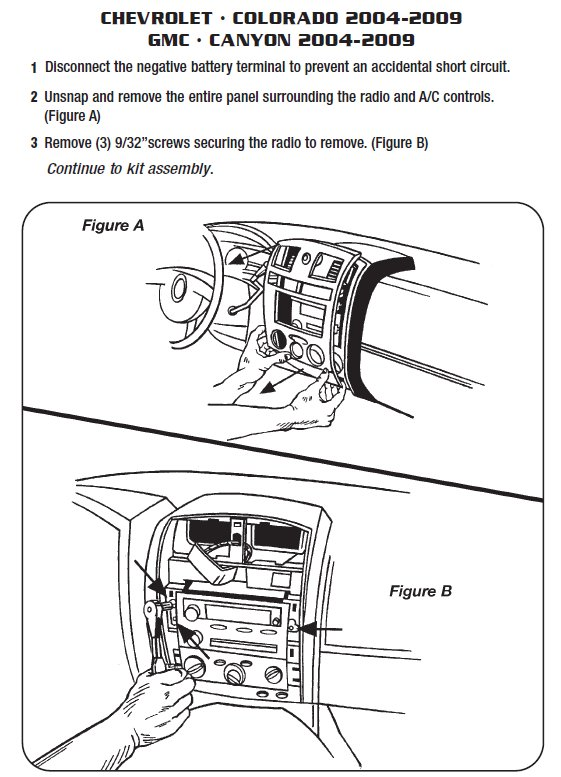 chevy colorado radio wiring diagram ford sierra cosworth .2007-chevrolet-coloradoinstallation instructions.