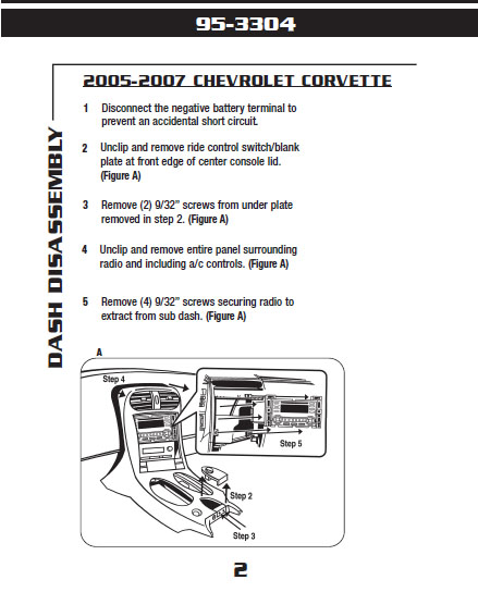 C4 Corvette Radio Wiring Diagram