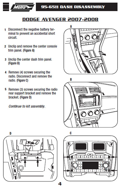 .2007-DODGE-AVENGERinstallation instructions.