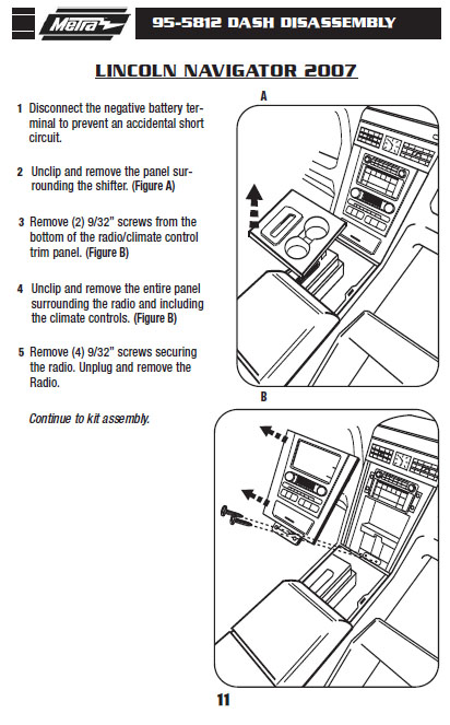 .2007-LINCOLN-NAVIGATORinstallation instructions.