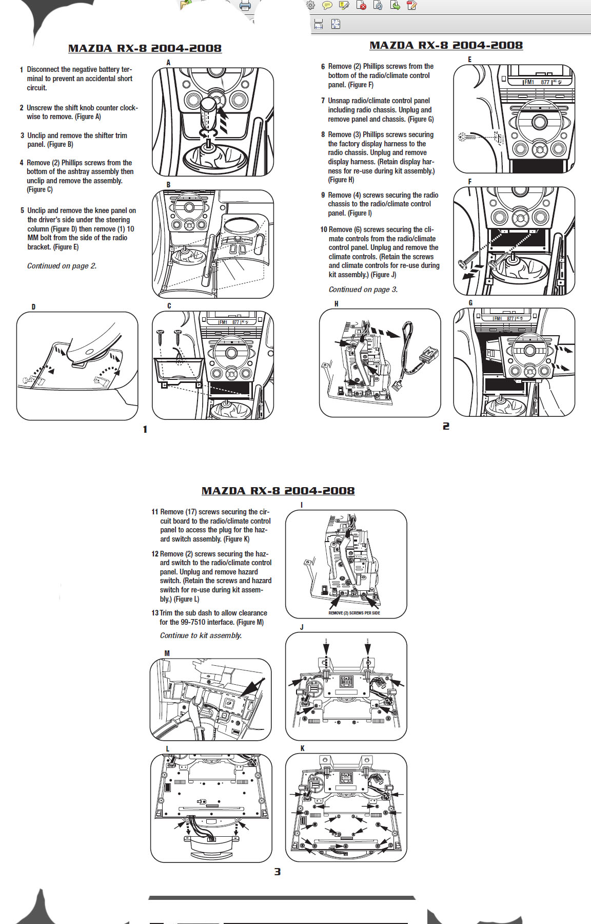 .2007-MAZDA-3installation instructions.