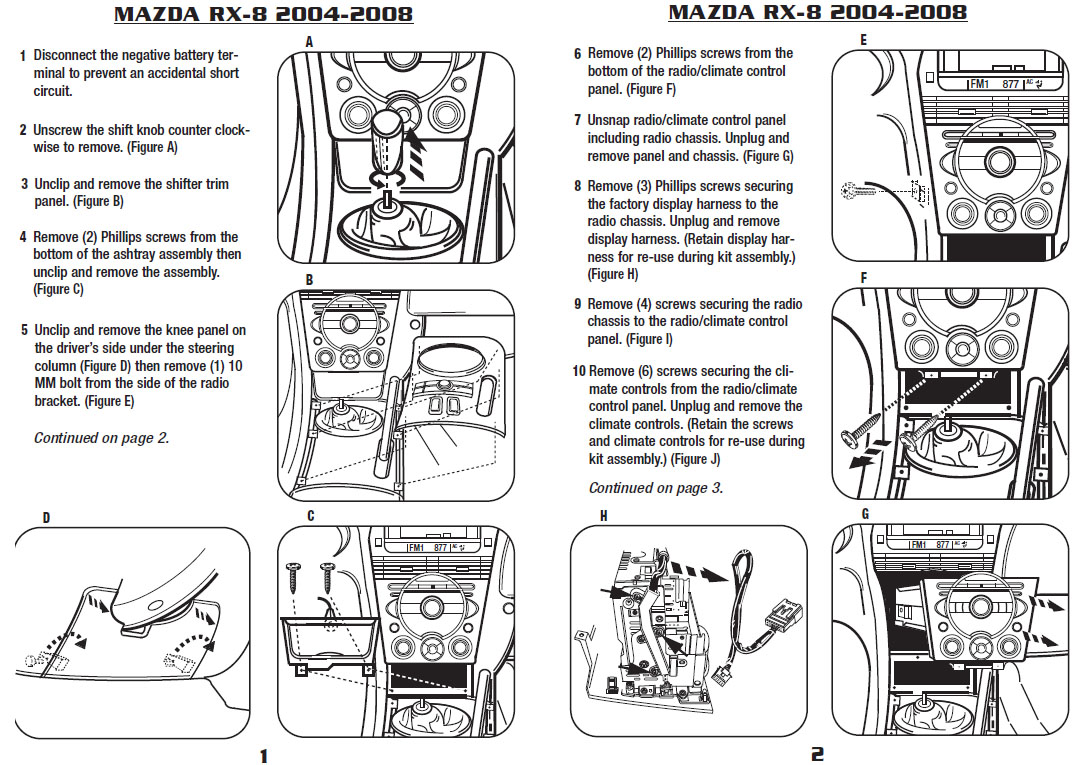 .2007-MAZDA-RX-8installation instructions.