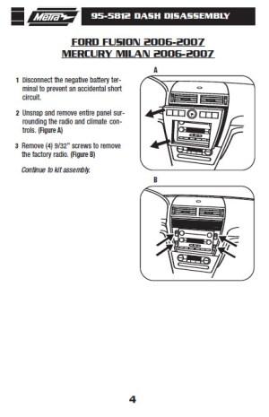 2007MERCURYMILANinstallation instructions