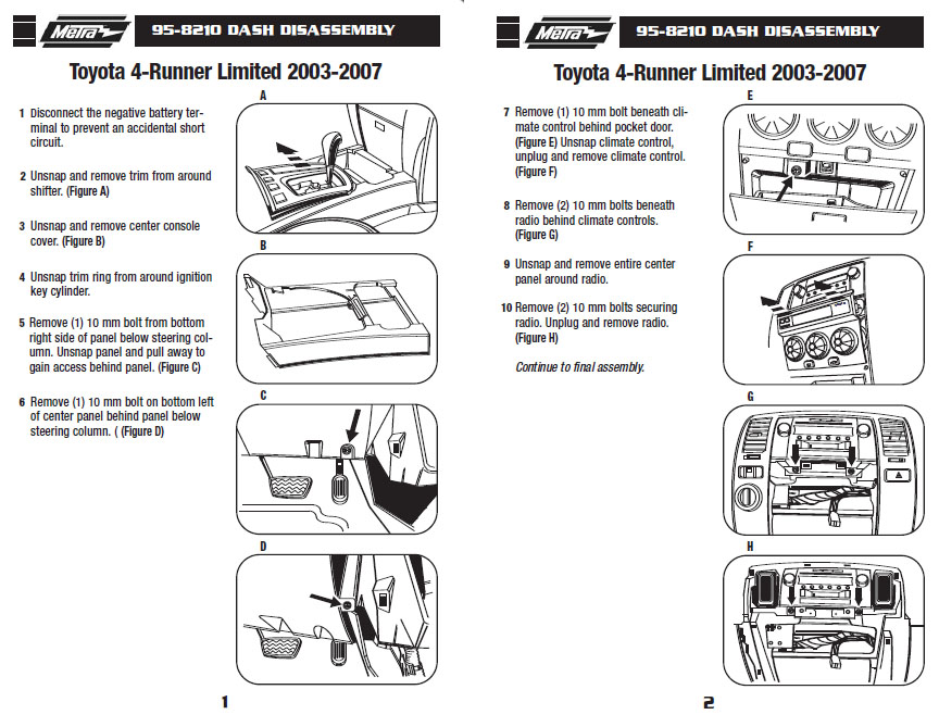 .2007-TOYOTA-4 RUNNER WO-JBLinstallation instructions.