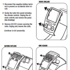 Lc Gmrc 01 Wiring Diagram Ford Focus Stereo 2008 .2008-saturn-outlookinstallation Instructions.