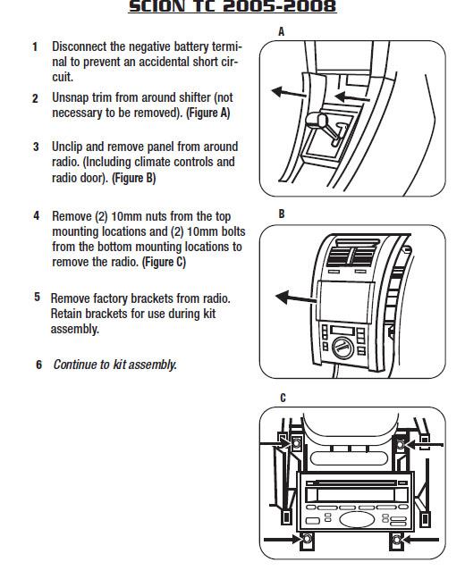 2005 scion tc radio wiring diagram wiring diagram 1996 Honda Civic Stereo Wiring Diagram  Scion xB Wiring-Diagram Scion tC Transmission Diagram Metra 70 1761 Wiring-Diagram