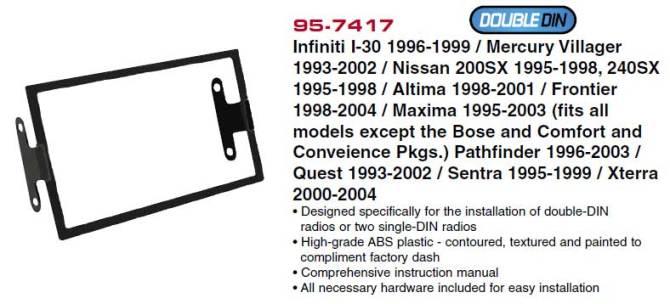 the bose radio replacement thread infiniti i30 9699