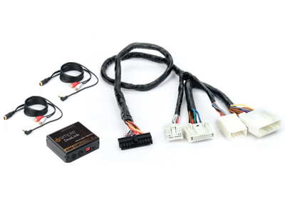 Dual Auxiliary Audio Input Interface for Select Nissan