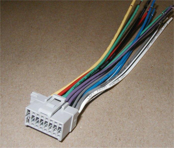 Panasonic 16 Pin Wiring Diagram