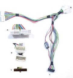 the hyundai kia harness adapter quickconnect qchyu 3mk hyundai wiring harness parts [ 1677 x 1587 Pixel ]