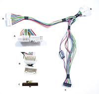 2015 Hyundai Elantra Installation Parts Harness Wires Kits