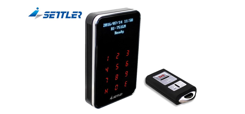 2.4G長距離及NFC雙系統門禁讀卡機/RI-740L