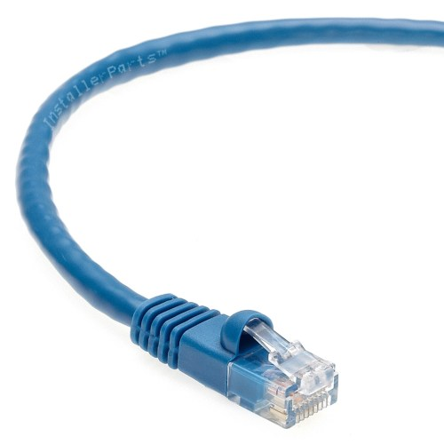 small resolution of 40 ft cat 6 molded snagless patch cable blue professional series 50 micron gold plated rj45 connectors ethernet data network