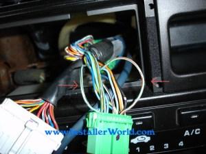 9698 Honda Civic Radio Removal