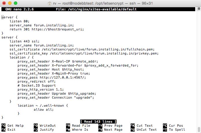 rv_—_root_nodebbtest___opt_letsencrypt_—_ssh_—_96×31 2