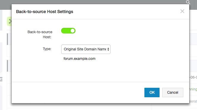 CDN_back-to-host-setting