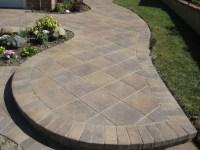Lovely Concrete Paver Patio Design Ideas