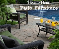 How to clean outdoor furniture cushions, advantage lawn ...