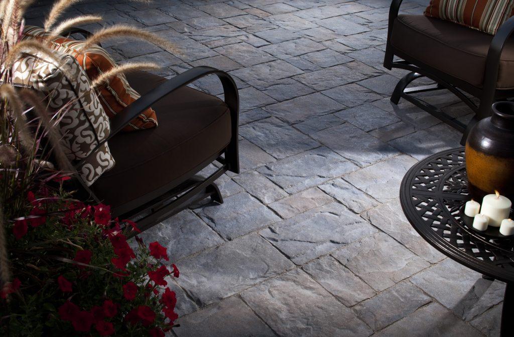 outdoor slate tile patio flooring